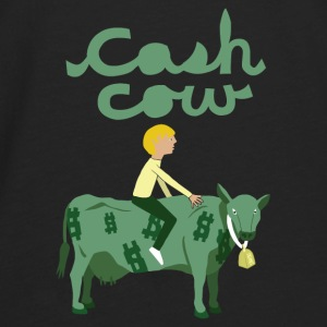 cash cow Baby & Toddler Shirts - Men's Premium Long Sleeve T-Shirt