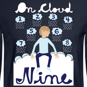 on cloud nine Hoodies - Men's Long Sleeve T-Shirt