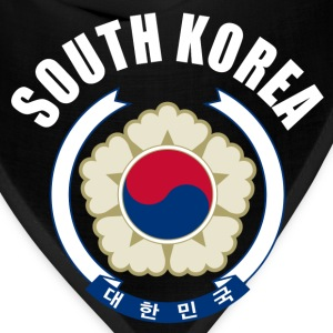 south korea coat of arms T-Shirts - Bandana
