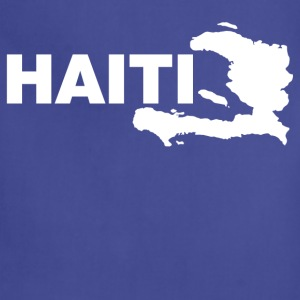 haiti map T-Shirts - Adjustable Apron