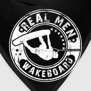 real men wakeboard T-Shirts - Bandana