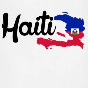 haiti map Women's T-Shirts - Adjustable Apron