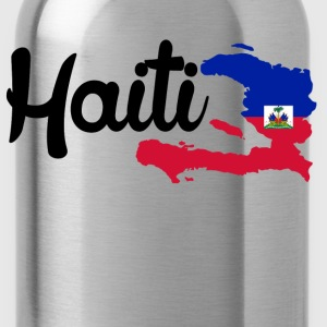haiti map Women's T-Shirts - Water Bottle