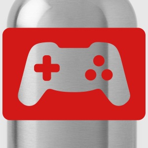 Gamepad Polo Shirts - Water Bottle
