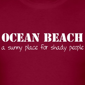 Ocean Beach California OB San Diego T-Shirts Shirt Hoodies - Men's T-Shirt