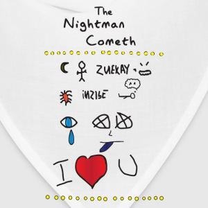 The Nightman Cometh-light T-Shirts - Bandana
