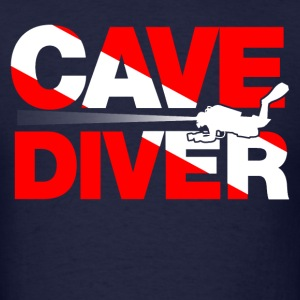 cave diver Long Sleeve Shirts - Men's T-Shirt