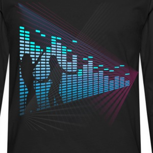 Equalizer Sound Music Dance  - Men's Premium Long Sleeve T-Shirt