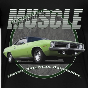 Kids'  T-Shirt | Plymouth Muscle | Classic America - Toddler Premium T-Shirt