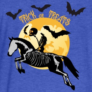 Trick or Treat Sweatshirts - Fitted Cotton/Poly T-Shirt by Next Level