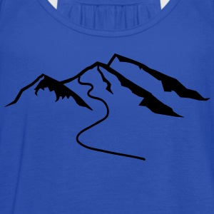 Mountains Kids' Shirts - Women's Flowy Tank Top by Bella