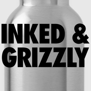 Inked & Grizzly T-Shirts - Water Bottle