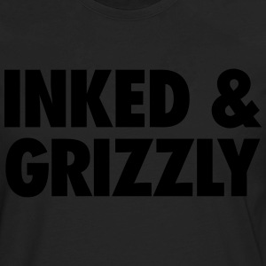 Inked & Grizzly T-Shirts - Men's Premium Long Sleeve T-Shirt