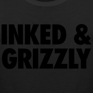 Inked & Grizzly T-Shirts - Men's Premium Tank