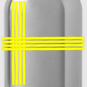 Swedish flag-lined - Water Bottle
