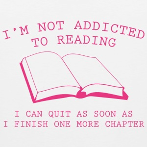 I'm Not Addicted To Reading - Men's Premium Tank