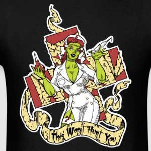 Zombie Nurse Girl Hoodies - Men's T-Shirt