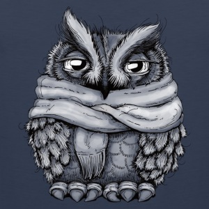 Freezing Owl Kids' Shirts - Men's Premium Tank