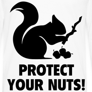 Protect Your Nuts! - Men's Premium Long Sleeve T-Shirt