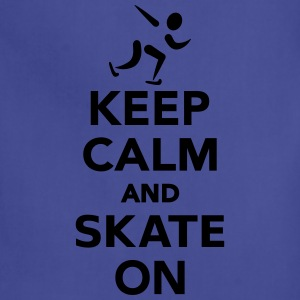 Keep calm and Skate on T-Shirts - Adjustable Apron