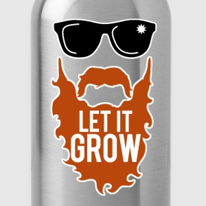 Let It Grow T-Shirts - Water Bottle