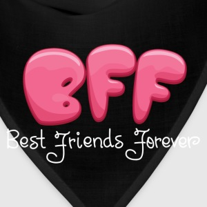 BEST FRIENDS FOREVER COUPLES DESIGN Women's T-Shirts - Bandana