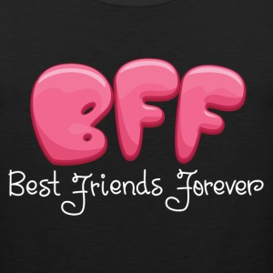 BEST FRIENDS FOREVER COUPLES DESIGN Women's T-Shirts - Men's Premium Tank