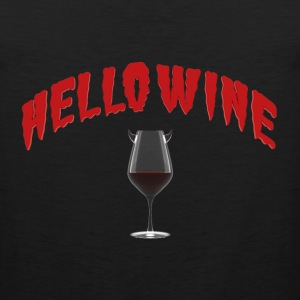 Hello Wine - A Halloween Treat Long Sleeve Shirts - Men's Premium Tank