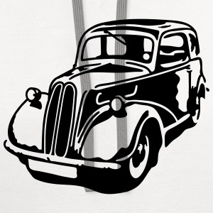 Ford Popular Motor Car T-Shirts - Contrast Hoodie