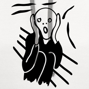 The Scream T-Shirts - Contrast Hoodie