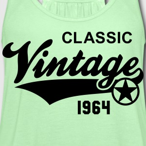 Vintage CLASSIC 1964 Shirt Birthday Anniversary 50 - Women's Flowy Tank Top by Bella