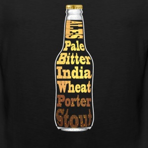 T-Shirt featuring Ales - Pale, bitter, India, Whea - Men's Premium Tank
