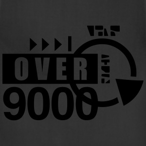 over 9000 T-Shirts - Adjustable Apron