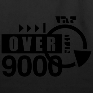 over 9000 T-Shirts - Eco-Friendly Cotton Tote