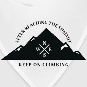 Rock Climbing Keep On Climbing - Bandana