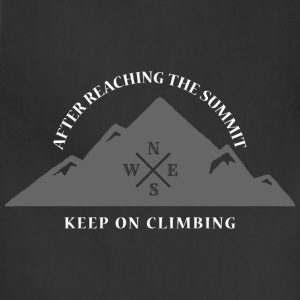 Rock Climbing Keep On Climbing - Adjustable Apron