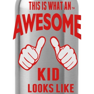 THIS IS WHAT AN AWESOME KID LOOKS LIKE - Water Bottle