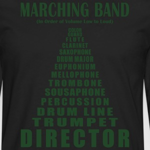 Marching Band Volume (Men's) - Men's Premium Long Sleeve T-Shirt
