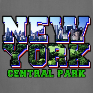 new york central park T-Shirts - Adjustable Apron