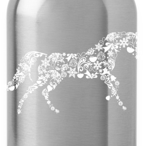 Christmas Horse Hoodies - Water Bottle