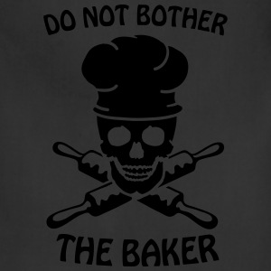 Do not bother the baker Women's T-Shirts - Adjustable Apron