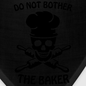 Do not bother the baker Women's T-Shirts - Bandana