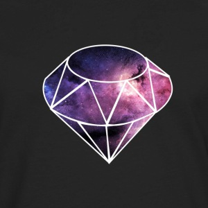 Diamond Nebula Ladie's Tee - Men's Premium Long Sleeve T-Shirt