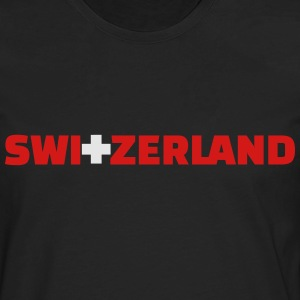 Switzerland T-Shirts - Men's Premium Long Sleeve T-Shirt