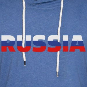Russia T-Shirts - Unisex Lightweight Terry Hoodie