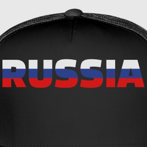 Russia Women's T-Shirts - Trucker Cap