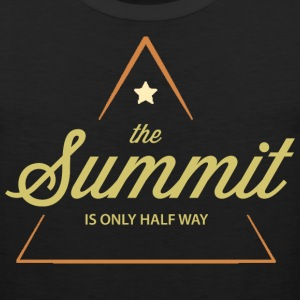 Climbing The Summit Is Only Half Way - Men's Premium Tank