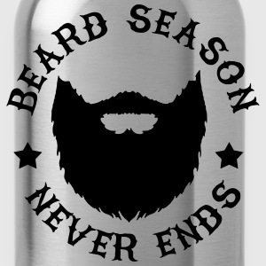Beard Season T-Shirts - Water Bottle