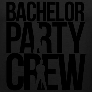 bachelor party crew T-Shirts - Men's Premium Tank