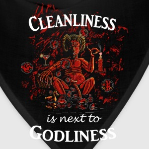 Satan / Devil - Cleanliness is next to Godliness Women's T-Shirts - Bandana